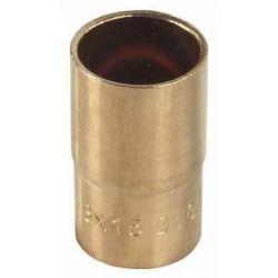 Redukcja nyplowa miedziana do lutowania, ⌀ 18 mm × 12 mm Rury i kształtki