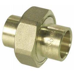 Śrubunek prosty miedziany do lutowania, ⌀ 28 mm × 28 mm Baterie łazienkowe