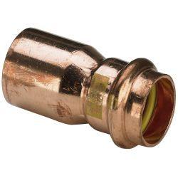 Mufa redukcyjna miedziana zaciskana do gazu, ⌀ 22 mm × 18 mm Budownictwo i Akcesoria
