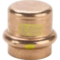 Zaślepka miedziana zaciskana do gazu, ⌀ 15 mm