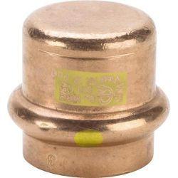 Zaślepka miedziana zaciskana do gazu, ⌀ 22 mm Rury i kształtki