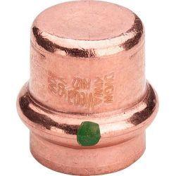 Zaślepka miedziana zaciskana do wody, ⌀ 18 mm