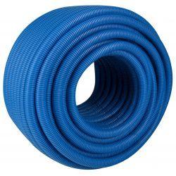 Rura osłonowa karbowana, niebieska, ⌀ 22/18 mm, długość: 50 mb. Ogrzewanie