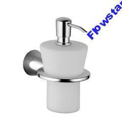 Dozownik do mydła HANSA DESIGNO chrom / szkło