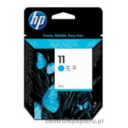 HP Wkład błękitny HP nr 11 28 ml [c4836a]