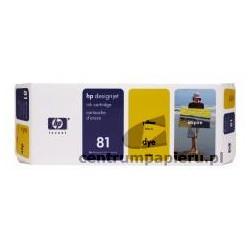 HP Wkład żółty HP nr 81 680 ml [c4933a]