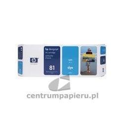 HP Wkład błękitny HP nr 81 680 ml [c4931a]