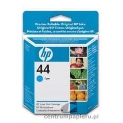 HP Wkład błękitny HP nr 44 42 ml [51644ce]