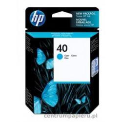 HP Wkład błękitny HP nr 40 42 ml [51640ce]