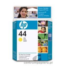 HP Wkład żółty HP nr 44 42 ml [51644YE]