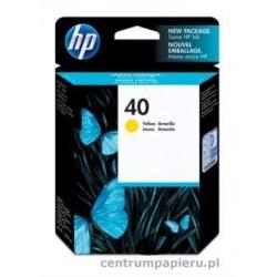 HP Wkład żółty HP nr 40 42 ml [51640ye]