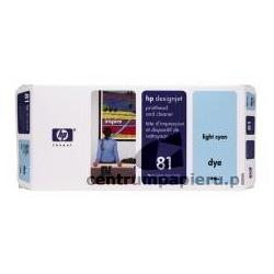 HP Głowica jasno błękitna gniazdo czyszczące HP nr 81 [c4954a]
