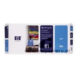 HP Głowica błękitna gniazdo czyszczące HP nr 81 [c4951a]
