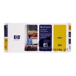 HP Głowica żółta gniazdo czyszczące HP nr 81 [c4953a]