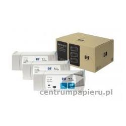 HP Zestaw 3x błękitny wkład HP nr 81 3 x 680ml [c5067a]