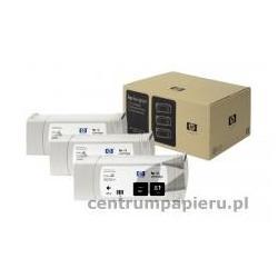 HP Zestaw 3x czarny wkład HP nr 81 3 x 680ml [c5066a]