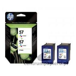 HP Zestaw 2x trójkolorowy wkład HP nr 57 17 ml [C9503AE]