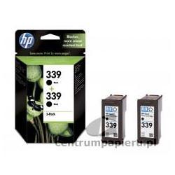 HP Zestaw 2x czarny wkład HP nr 339 2x 21 ml [C9504EE]