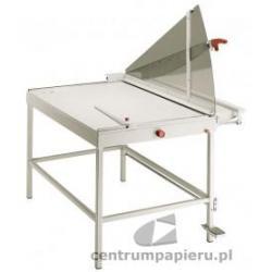 OPUS IDEAL 1110 jedna z obcinarek nożycowych rozbudowana o stojak. [Ideal 1110]