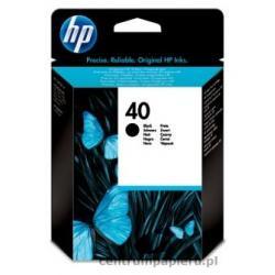 HP Wkład czarny HP nr 40 42 ml [51640ae]