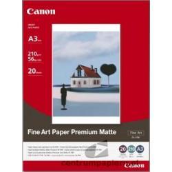 Canon Papier CANON FA-PM1 Fine Art Papier Premium Matte 20ark A3 [1263B006]