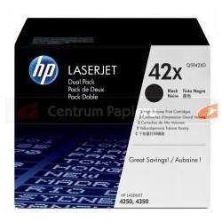 HP Zestaw 2x czarny toner HP Q5942X 2x 20 000 kopii [Q5942XD]