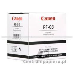 Canon Głowica drukująca CANON PF-03 GWARANCJA POINSTALACYJNA - AUTORYZACJA CANON POLSKA [PF03]