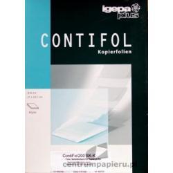 Igepa Folia Igepa Contifol 200 SK-K samoklejąca przeźroczysta do lasera 100ark A4 [88205]