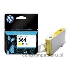 HP Wkład żółty HP nr 364 do 300 kopii [CB320EE]