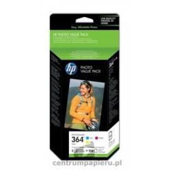 HP Zestaw 3 wkładów HP nr 364 C M Y Papier Foto [CG927EE]