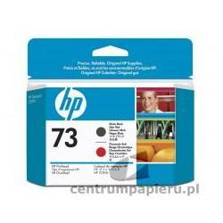 HP Głowica czarna matowa i czerwona chromatyczna HP nr 73 [CD949A]
