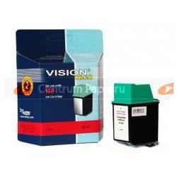 VisionTech Zamienny wkład czarny do HP No.10 do 1803 kopii [vt-h10B]