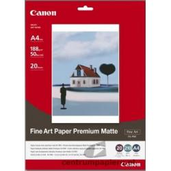 Canon Papier CANON FA-PM1 Fine Art Papier Premium Matte 20ark A4 [1263B005]