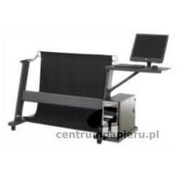 Colortrac Podstawa do CI40 Standard z koszem na dokumenty i zestawem półek pod komputer i monitor LCD [POD_KOSZ_PÓŁ_CI]