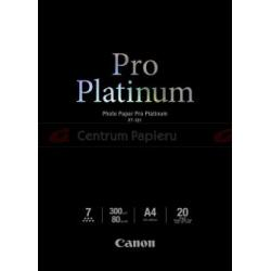 Canon Canon Pro Platinum Photo PT101 300 g m2 20ark. A4 [2768B016]