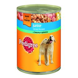 PEDIGREE Junior Cielęcina w galaretce 400g