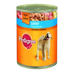 PEDIGREE Junior Kurczak w galaretce 400g