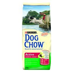PURINA DOG CHOW Active 15kg + plecak w prezencie!!!