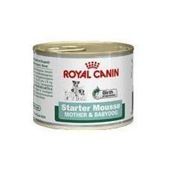 Royal Canin Starter Mousse - delikatny mus dla szczeniąt i suk w ciąży 195g