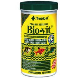 TROPICAL Bio-Vit - pokarm roślinny dla rybek 600ml/110g