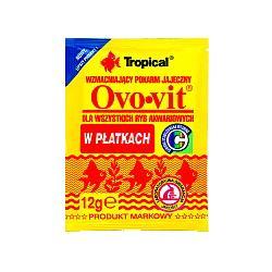 TROPICAL Ovo-vit - pokarm uzupełniający dla rybek 12g