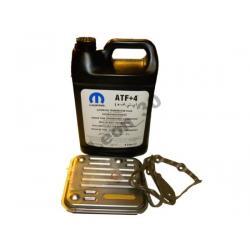 Olej MOPAR ATF + 4 filtr skrzyni VOYAGER 2000-2003