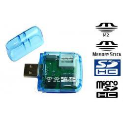 MINI CZYTNIK KART SD SDHC miniSD miniSDHC M2
