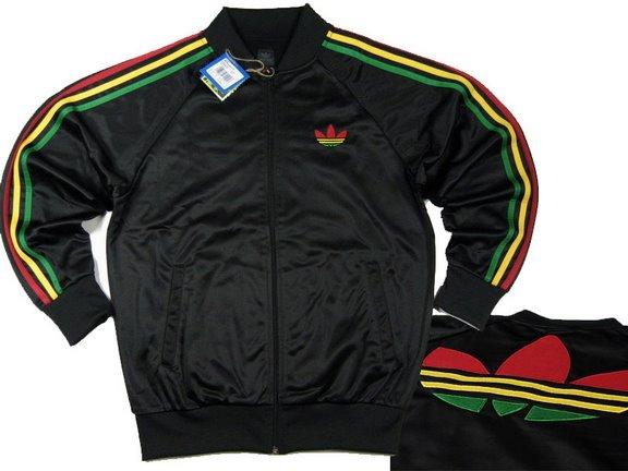 świetna jakość najlepiej online kody kuponów Bluza Adidas Adicolor Rasta na Bazarek.pl