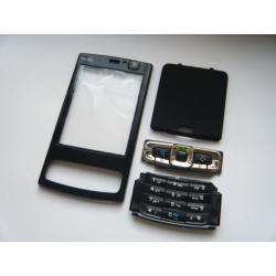 1226# HQ OBUDOWA NOKIA N95 8GB + KLAWIATURA CZARNA