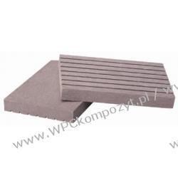 Profil bazowy ogrodzenia, kompozyt drewna, WPC, 71x12mm -  kolor szar, WPC03