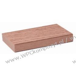 Deska na ogrodzenia, kompozyt drewna, WPC, 71x14mm -  kolor brązow, WPC12