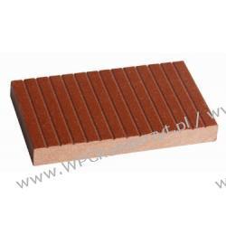 Profil bazowy ogrodzenia, kompozyt drewna, WPC, 140x16mm -  kolor brązow, WPC12