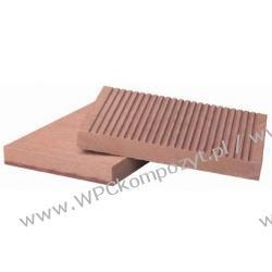 Deska na ogrodzenia, kompozyt drewna, WPC, 140x16mm -  kolor brązow, WPC12