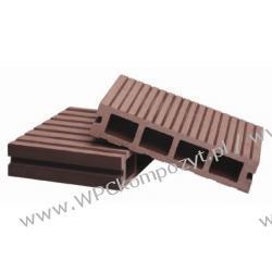 Deska tarasowa, kompozyt drewna, WPC, 146x32mm - 2,4/3/4/5,8m kolor grafitowy (WPC008)